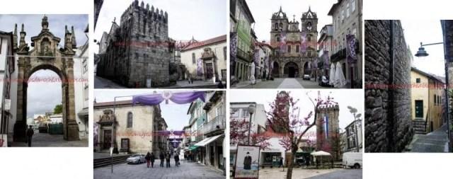 Um giro por Braga 2 Um dia na cidade de Braga em Portugal