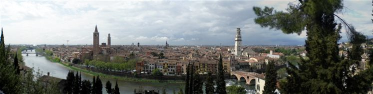 Verona 11abr08 La città e il Fiume Adige 8 cidades italianas que sempre sonhei em conhecer