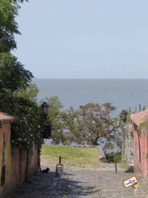 calle de los suspiros colônia del sacramento uruguai