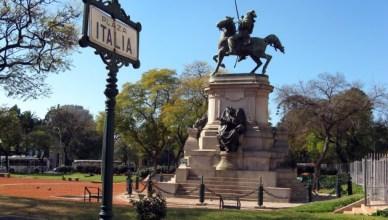 Plaza Itália já em Palermo Soho