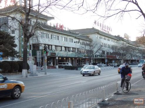 Pelas ruas de Pequim