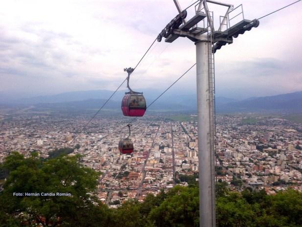 Teleférico de Salta FONTE: prensalatina.com