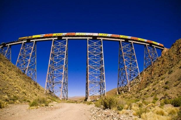 Tren a las Nubes Fonte: nuevodiariodesalta.com