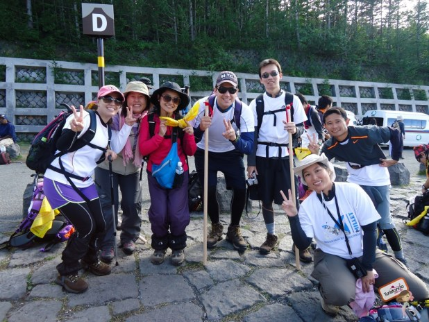 Esse foram meus amigos de aventura, essenciais para completarmos o percurso todo com alegria.