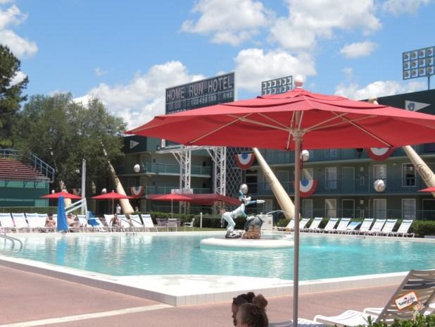 Uma das 3 piscinas