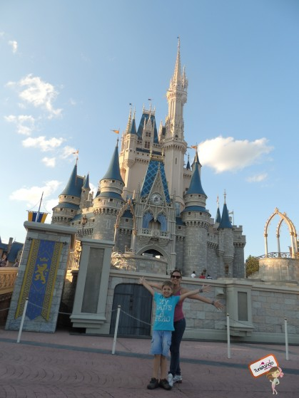 Magic Kingdom com meu pangarézinho lindo!!