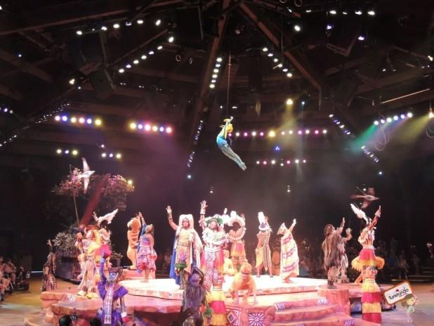 O show do rei leão, muito bonito.