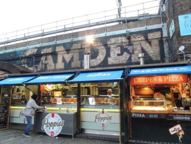 Camden Town, famoso bairro da Amy Whinehouse