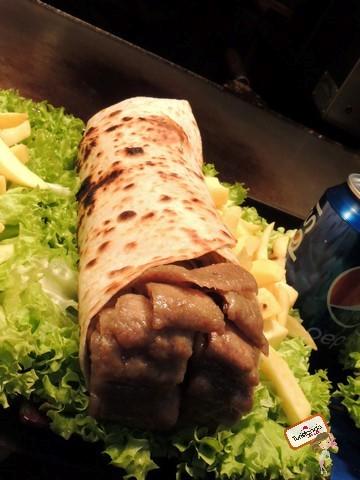 Kebab em Camden Town