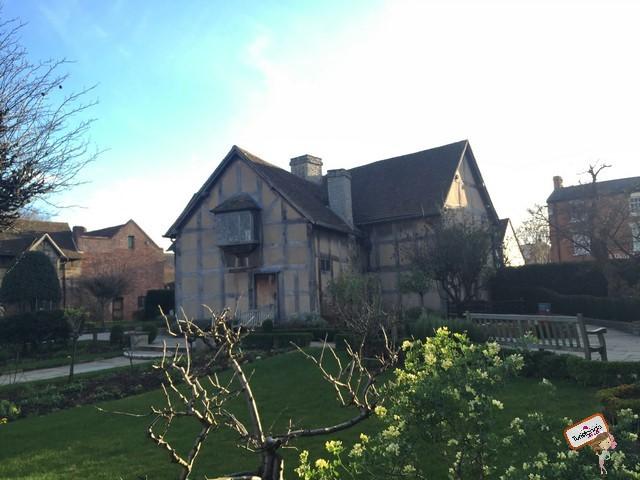 Casa onde Shakespeare nasceu