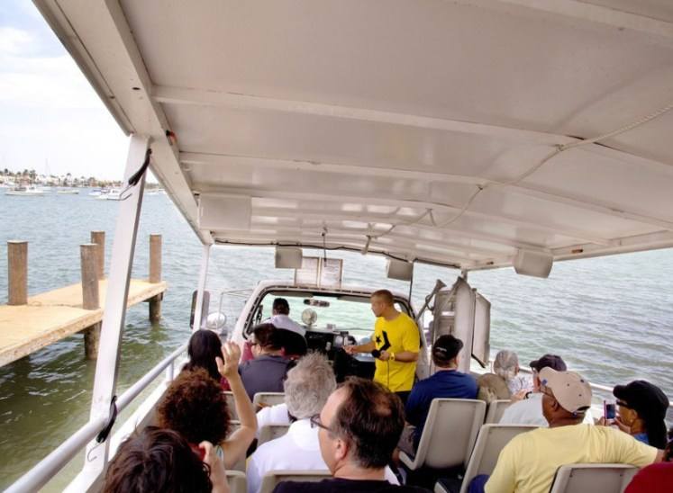 passeios em miami barco anfíbio