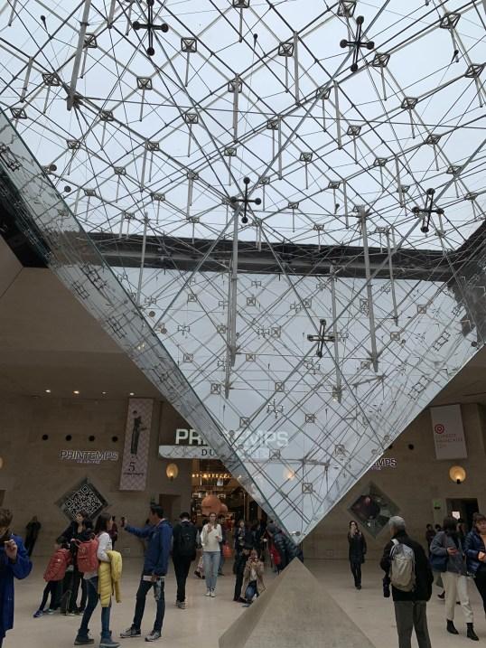 pontos turísticos de paris museu do louvre