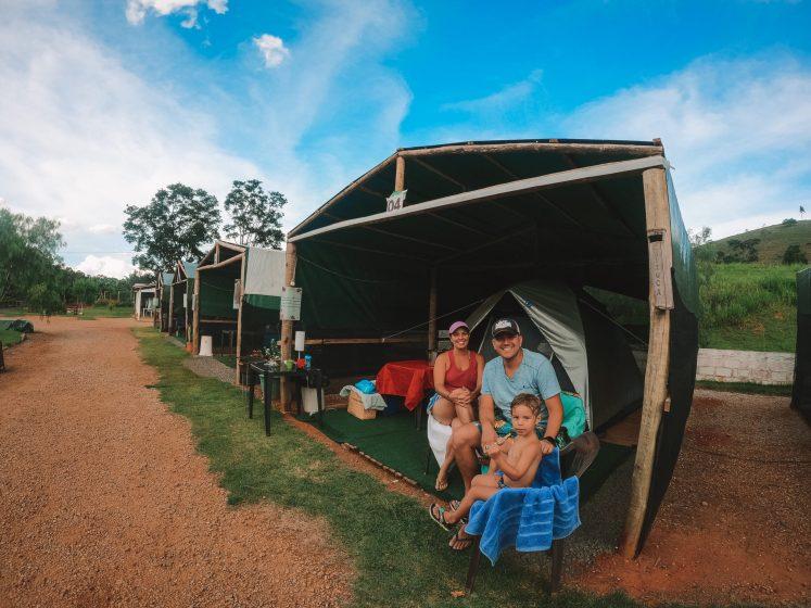 acampamento em Socorro
