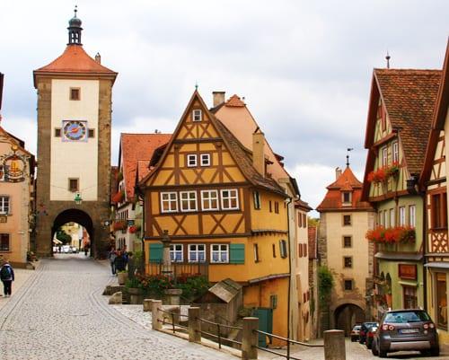 ruta romántica de Alemania