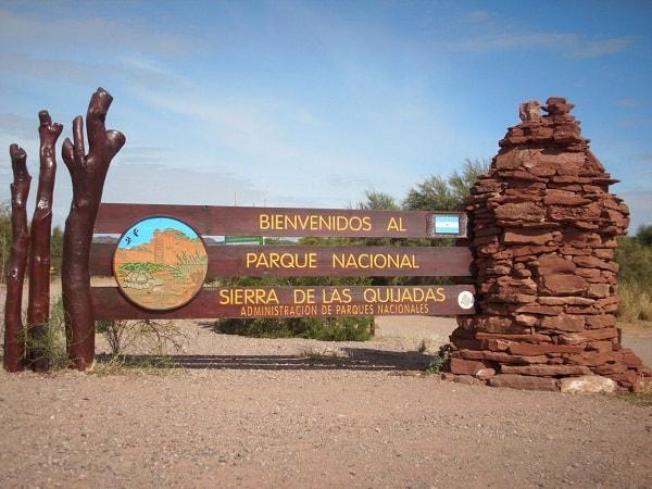 Parque Nacional Sierras de las Quijadas