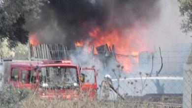 Photo of إصابة 2 في حريق نشب بمستودع للخردة بمدينة إزمير