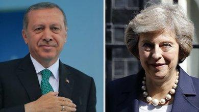 Photo of أردوغان وماي يبحثان هاتفياً العلاقات الثنائية وقضايا المنطقة