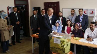Photo of أردوغان يدلي بصوته في الانتخابات الرئاسية والبرلمانية التركية