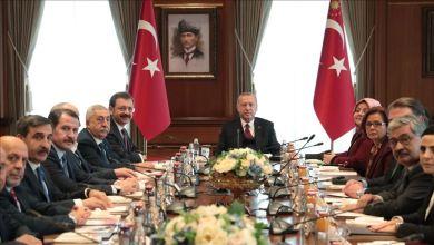 Photo of أردوغان يستقبل الأعضاء الأتراك في اللجنة الاستشارية التركية الأوروبية