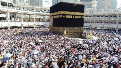 Photo of نحو نصف مليون شخص يصلون السعودية لأداء مناسك الحج