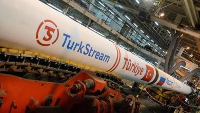 """Photo of """"السيل التركي"""".. إنجاز 95 بالمئة من محطة استقبال الغاز الروسي"""
