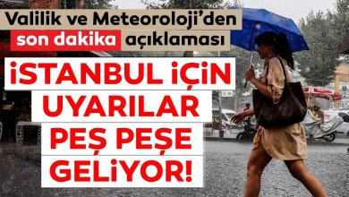 Photo of احذروا حالة الطقس مساء اليوم في اسطنبول