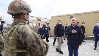 Photo of للمرة الأولى .. وزير الداخلية التركي سليمان صويلو في الداخل السوري