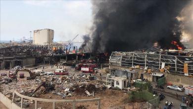 Photo of ألسنة النار تتصاعد مجددا في مرفأ بيروت