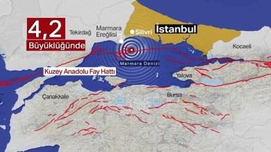 Photo of زلزال يشعر به سكان اسطنبول