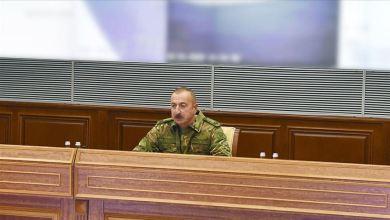 Photo of علييف: المقاتلات التركية ستظهر نفسها في حال تعرضنا لعدوان خارجي