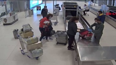 Photo of إلقاء القبض على امرأة في مطار اسطنبول