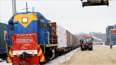 Photo of من هي الشركة التركية التي أرسلت 4 آلاف قطعة من البضائع المنزلية في أول قطار صادرات إلى روسيا؟