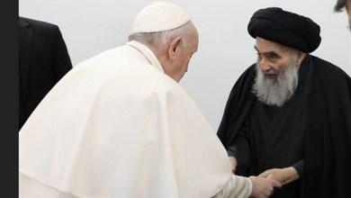 Photo of لقاء بابا الفاتيكان بالسيستاني: عن ماذا تخبرنا تلك اللقطة؟  هل يقيمون جبهة في الشرق مع إيران لحصار تركيا؟