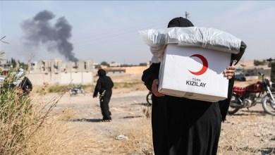 """Photo of """"الهلال الأحمر التركي"""" تكشف حصيلة مساعداتها للسوريين"""