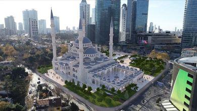 """Photo of الرئيس أردوغان يتفقد أعمال بناء مسجد """"لفنت"""" في إسطنبول"""
