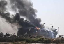Photo of انفجار في ناقلة نفط قبالة ميناء بانياس السوري