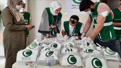 Photo of مساعدات متنوعة لـ500 أسرة سورية في هطاي التركية