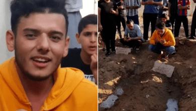 Photo of تحدث عن آخر ما دار بينهما.. مشهد استثنائي لشاب يودع خطيبته بعد استشهادها في غزة