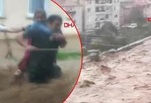 Photo of ولايتي ريزا و ارتفين استسلمتا لكارثة الفيضانات  .. فيديو