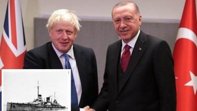 """Photo of جونسون يمازح أردوغان: """"نأخذ المال ولا نرد السفن"""".. ما القصة؟"""