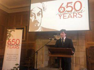 Şotlandiyada İmadəddin Nəsiminin 650 illik yubileyi qeyd edilib
