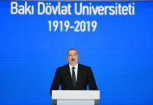 Bakı Dövlət Universitetinin 100 illik yubileyi
