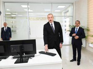 """""""Şəmkirçay"""" Sutəmizləyici Qurğular Kompleksi istifadəyə verilib"""