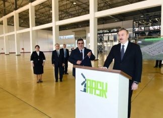 Prezident İlham Əliyev Ağstafa Aqrar Sənaye Kompleksinin açılışında