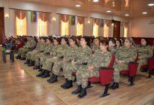 Beynəlxalq Qadınlar Günü Azərbaycan Ordusunda qeyd edilib