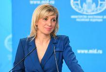 Rusiya Xarici İşlər Nazirliyinin (XİN) rəsmi nümayəndəsi Mariya Zaxarova