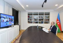 Türk Şurasının İqtisadiyyat nazirlərinin videokonfrans formatında görüşü