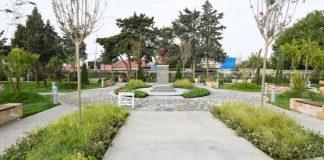 Murtuza Muxtarovun Əmircan qəsəbəsindəki parkı