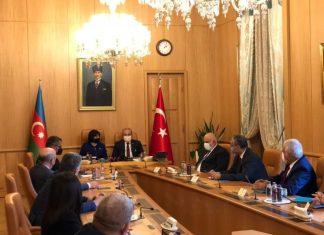 Azərbaycan və Türkiyə parlament sədrləri görüşüb