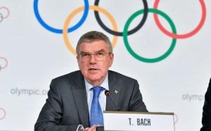 Beynəlxalq Olimpiya Komitəsinin prezidenti Tomas Bax